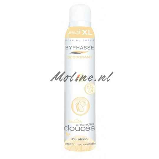 Byphasse deodorant spray almond 250ml
