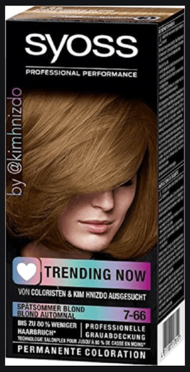Syoss Coloration Trending Now Blond Automnal 7-66