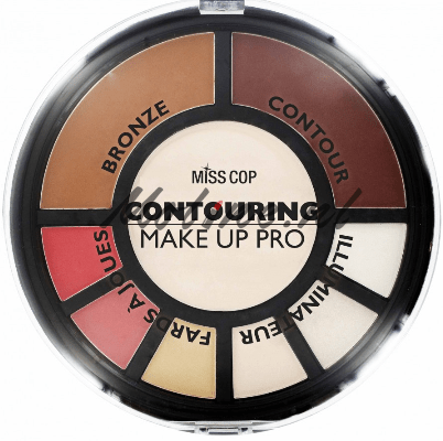 Contouring palette make up pro