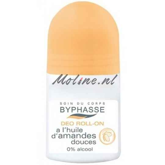 Byphasse 24h Roll On deodorant sweet almond oil 50ml