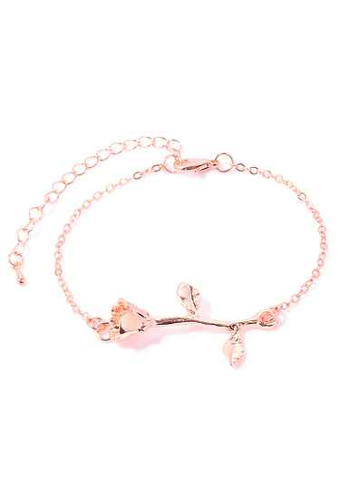 Armband roos rose gold