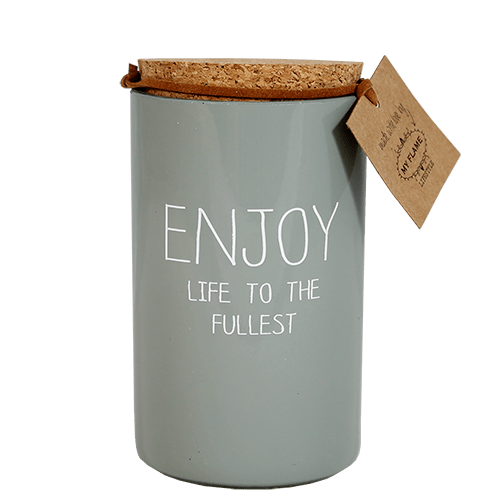 SOJAKAARS - ENJOY LIFE TO THE FULLEST - GEUR: MINTY BAMBOO