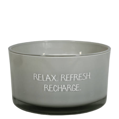 SOJAKAARS - RELAX REFRESH RECHARGE - GEUR: MINTY BAMBOO