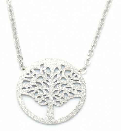 Ketting Tree Of Life - Zilver