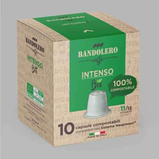 Bandolero Intenso BIO cups. Intensiteit 11 van 13.