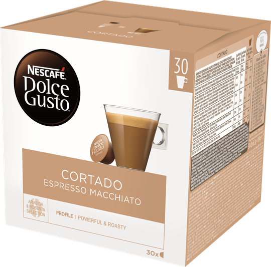 Dolce Gusto Cortado XL pak 30 cups/90cups▼