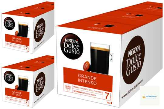 Dolce Gusto Grande Intenso 3x48 cups