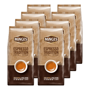 Minges Espresso Tradition bonen 8kg