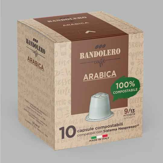 Bandolero Arabica cups. Intensiteit 9 van 13.