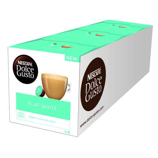 Dolce Gusto Flat white 48 cups