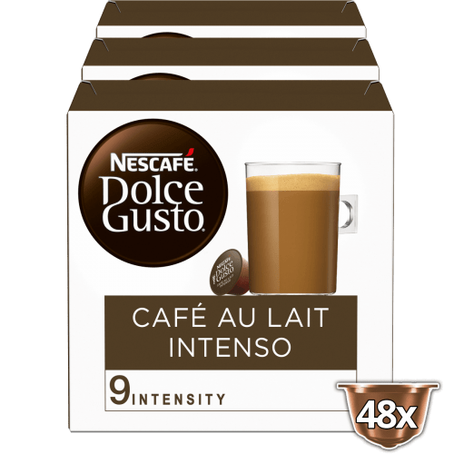 Dolce Gusto Cafe au Lait INTENSO 48 cups