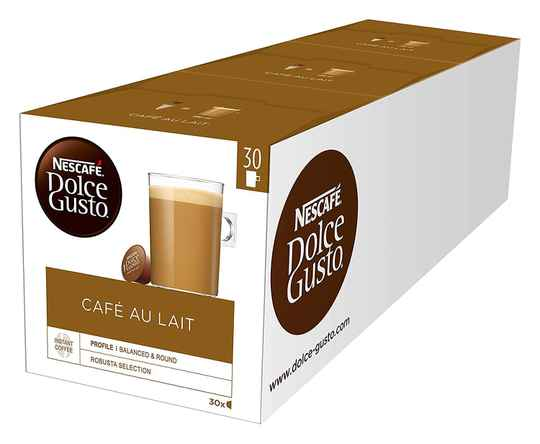 Dolce Gusto Cafe au Lait 3x30 cups