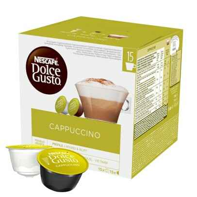 Dolce Gusto Cappuccino XL pak 30 cups/90cups