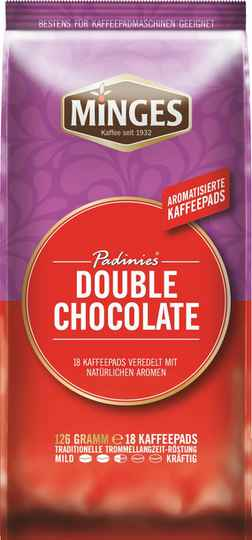 Minges Double Chocolate pads 18x
