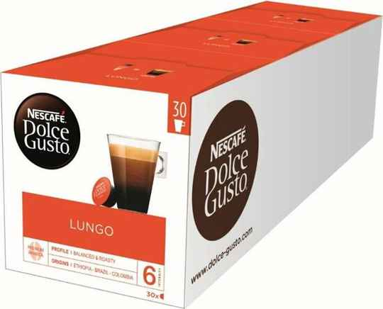 Dolce Gusto Lungo 3x30 cups