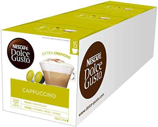 Dolce Gusto Cappuccino 3x30 cups