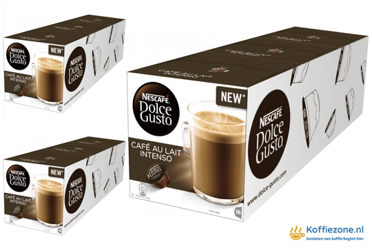 Dolce Gusto Cafe au Lait INTENSO 3x48 cups