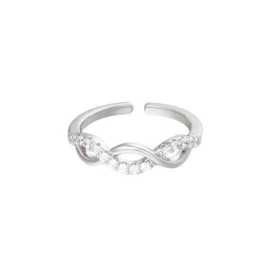 Ring angelic zilver