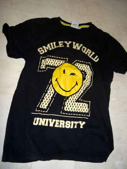 Smiley world shirt   304