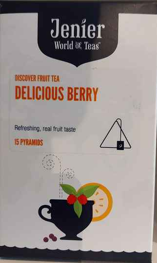 DELICIOUS BERRY TEABAGS 15 PC