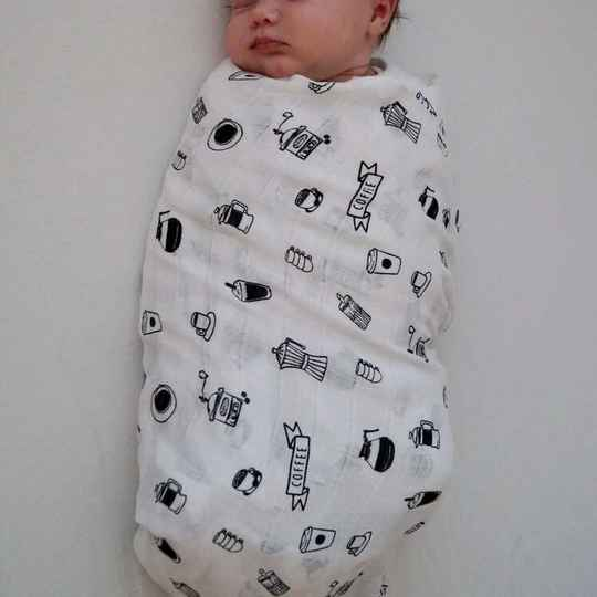 Swaddle/ Tetra blanket | Cos I Said So