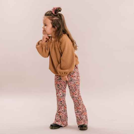 Flared pants Flower | No Labels Kids