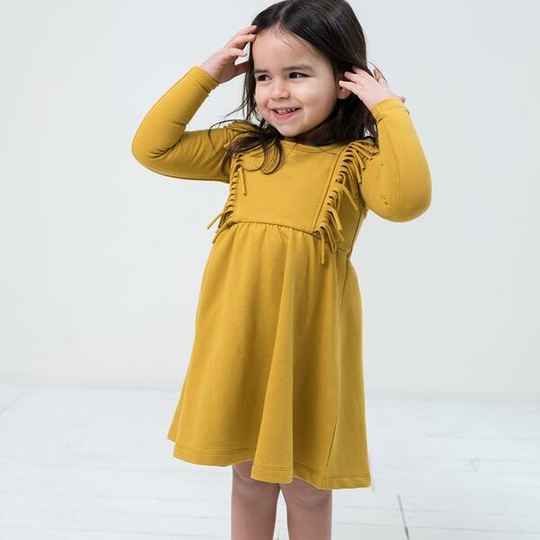 Boho dress - Honey | Little Indians