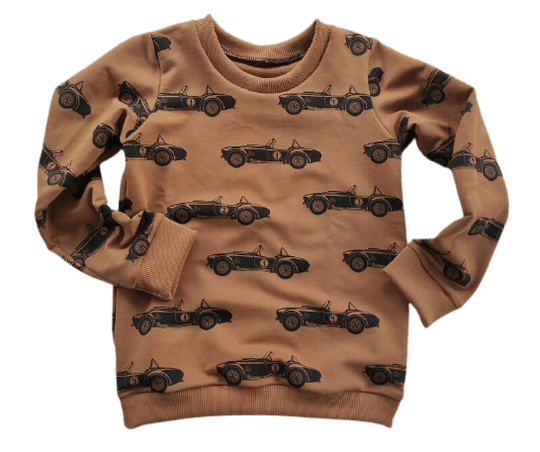 Sweater Race auto caramel