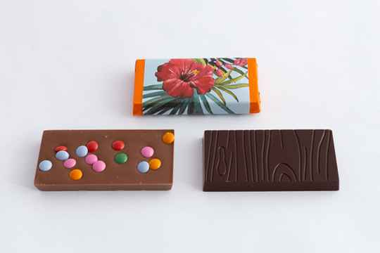 chocolade tablet 8x4cm (40g)