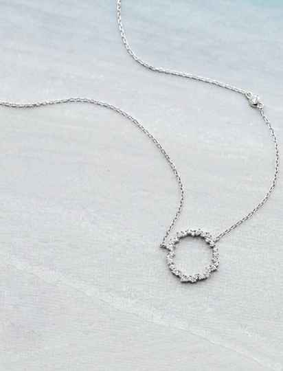 Be Dazzle Ring Pendant Necklace