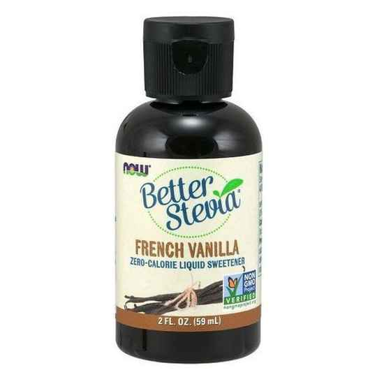 Now Foods Better Stevia French Vanilla 59ml