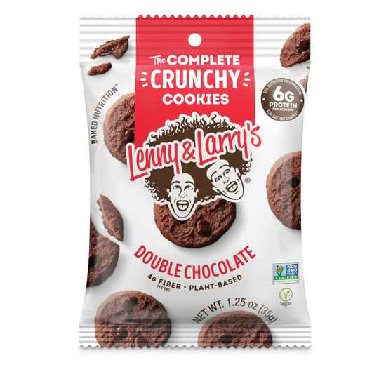 Lenny & Larry's - Complete Crunchy Cookie 120g Double Chocolate