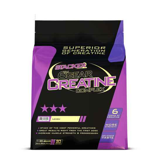 Stacker2 - 6th Gear Creatine