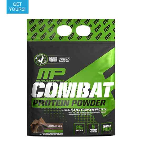 MusclePharm - Combat 100% Whey bag