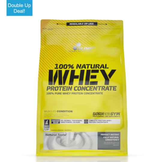 2x Olimp 100% Natural Whey Protein Concentrate 700g