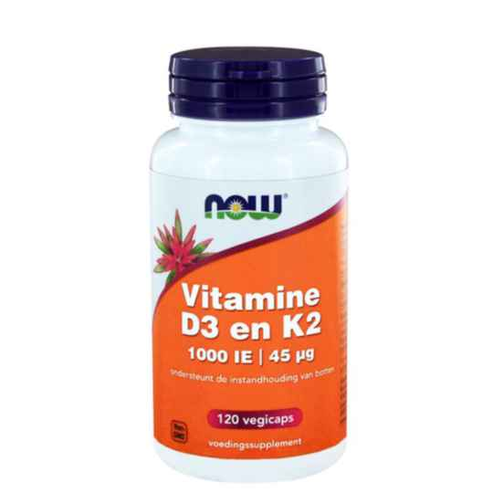 NOW FOODS Vitamines D3 & K2