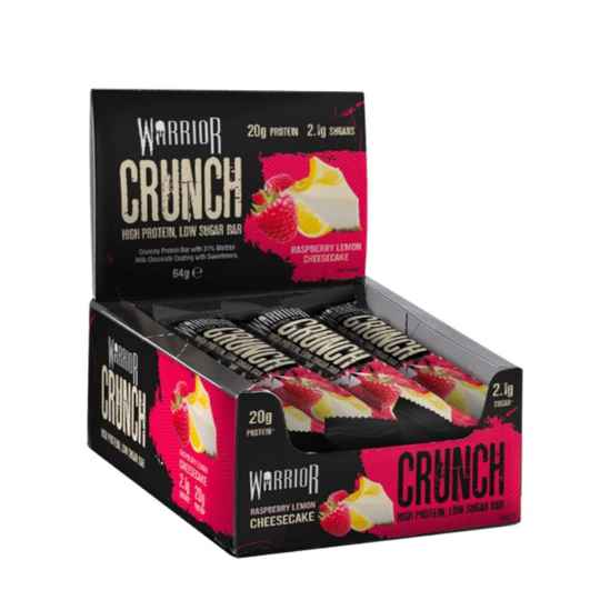 Warrior - Crunch Raspberry Lemon Cheesecake
