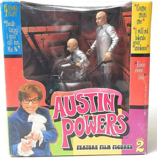 Mcfarlane Dr Evil And Mini Me From Austin Powers