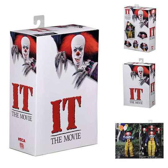 IT The Movie: Ultimate 1990 Miniseries Pennywise 7 inch Action Figure