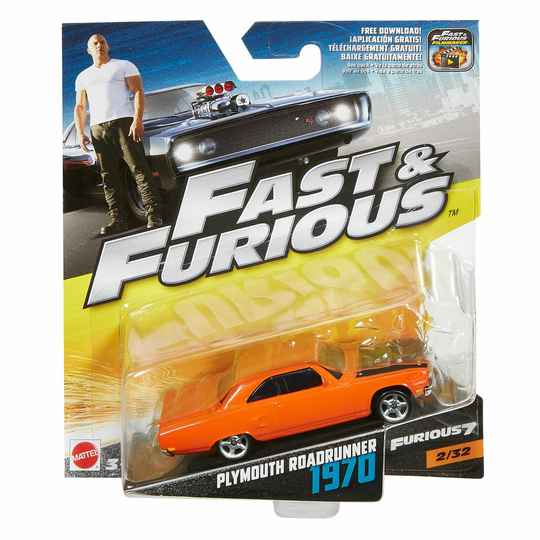 Fast & Furious 7 1970 Plymouth Roadrunner