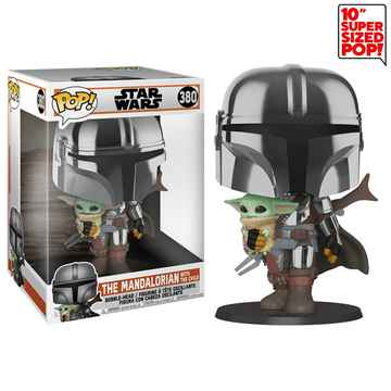 The Mandalorian with The Child Star Wars Funko POP! #380