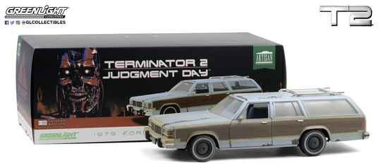 Terminator 2 Diecast Model 1/18 1979 Ford LTD Country Squire