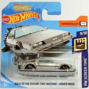 Hot Wheels Back To The Future Time Machine Delorean Hoover Mode