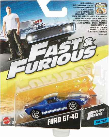 Fast & Furious 5 Ford GT-40