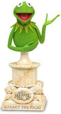 Muppets Kermit The Frog Bust