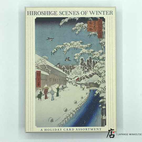 Hiroshige Scenes of Winter - 20 briefkaarten met enveloppen
