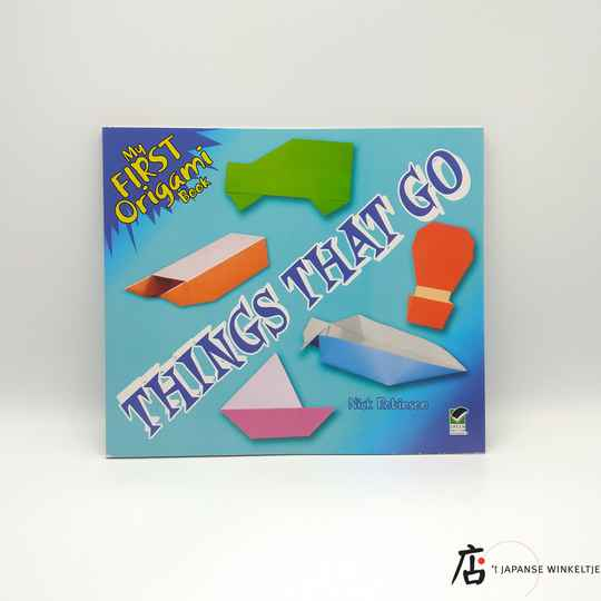 My First Origami Book: Things that Go