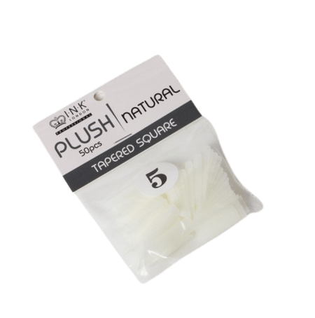 Plush Tips Refill Tapered Square Natural 5