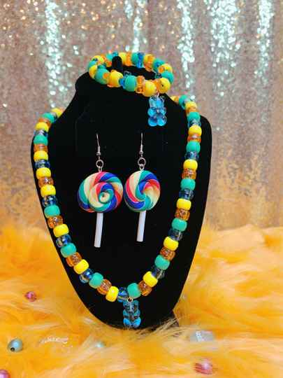 Blue Candy Charm