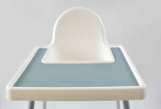 Stone Blue IKEA Highchair Placemat